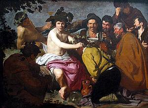 """""""El triunfo de Baco"""" de Diego Velázquez"""